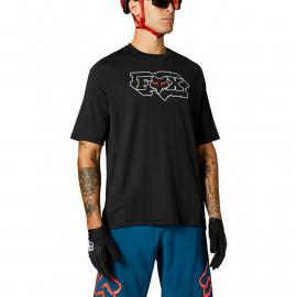 Fox Racing Defend Ss Jersey Fheadx Black 2021
