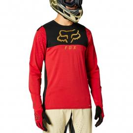 Fox Racing Flexair Delta Ls Jersey Chili 2021