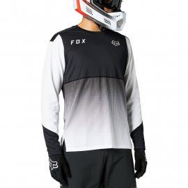 Fox Racing Flexair Ls Jersey Black/White 2021