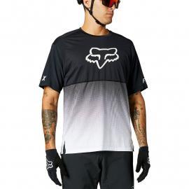 Fox Racing Flexair Ss Jersey Black/White 2021