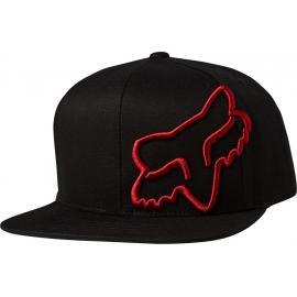Fox Racing Headers Snapback Hat  Black/Red 2020