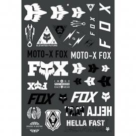 Fox Racing Illmatik Track Pack Black/White 2021