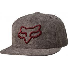 Fox Racing Instill Snapback Hat Grey/Red 2020