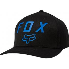 Fox Racing Number 2 Flexfit Hat Black/Blue 2020