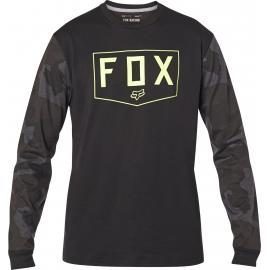Fox Racing Shield Ls Tech Tee Black Camo 2020