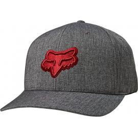 Fox Racing Transposition Flexfit Hat  Black/Red 2020