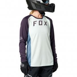 Fox Racing W Defend Ls Jersey Grey 2021