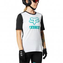 Fox Racing W Ranger Ss Jersey Block White/Black 2021