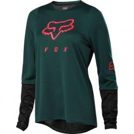 Fox Racing Womens Defend Ls Jersey Dark Green 2020