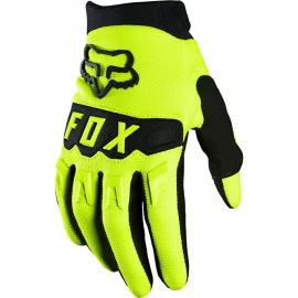 Fox Racing Youth Dirtpaw Glove Flo Yellow 2020