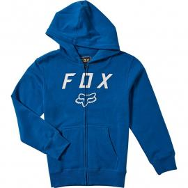 Fox Racing Youth Legacy Moth Zip Fleece  Royal Blue 2020