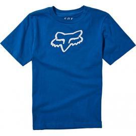 Fox Racing Youth Legacy Ss Tee  Royal Blue 2020