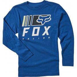 Fox Racing Youth Overkill Ls Tee  Royal Blue 2020