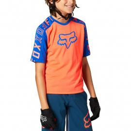 Fox Racing Yth Ranger Dr Ss Jrsy Atomic Punch 2021