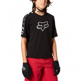 Fox Racing Yth Ranger Dr Ss Jrsy Black 2021