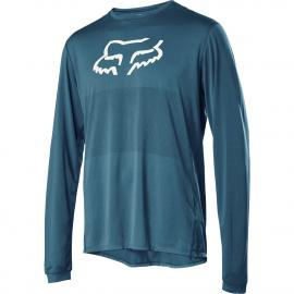 Fox Ranger LS Foxhead Jersey Maui Blue 2020