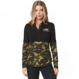 Fox Satellite Long Sleeve Knit Pullover Womens Hoody 2019