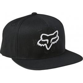 Fox Top Coat Snapback Hat Black 2021