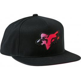 Fox Youth Pyre Snapback Hat Black 2021