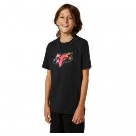 Fox Youth Pyre SS Tee Black 2021