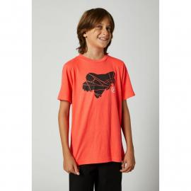Fox Youth Shattered SS Tee Atomic Punch 2021