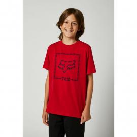 Fox Youth Timed Out Ss Tee Chili 2021