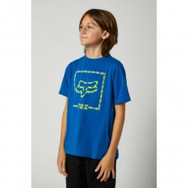 Fox Youth Timed Out Ss Tee Royal Blue 2021