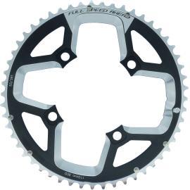 FSA Gossamer ABS Road Chainring (2x11, 110x52T, Black, 4h)