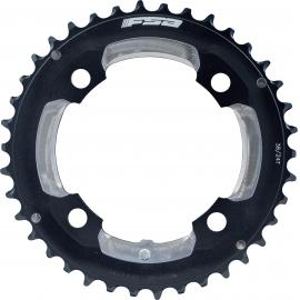FSA Pro MTB Chainring (2x10, 104x38T, Black, 4h, 12mm Pin)