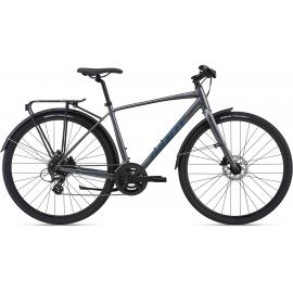Giant Escape 2 City Disc Mens Hybrid Charcoal 2021