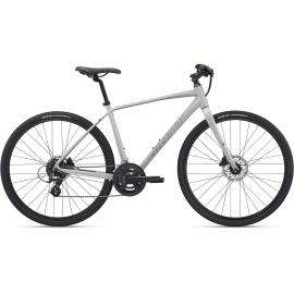 Giant Escape 2 Disc Mens Hybrid Concrete 2021
