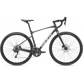 Giant Revolt 0 Road Bike Gunmetal Black 2021