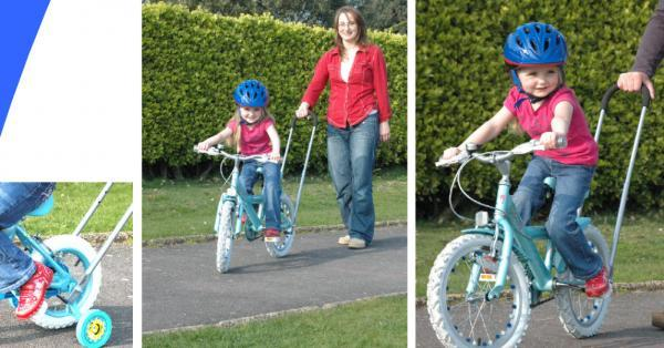 Balance Buddy Bike Bicycle Children Kids Training Handle Holding By Two Hand