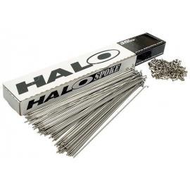 Halo BMX Plain Gauge 2.3mm Spokes