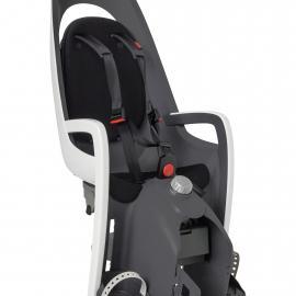 Hamax Caress Child Bike Seat White/Black (Pannier Rack Version)