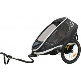 Hamax Outback One Child Bike Trailer Grey