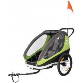 Hamax Traveller Child Bike Trailer Green/Grey