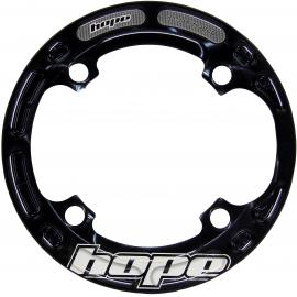 Hope Aluminium Bash Ring Black