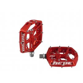 Hope F20 Flat Pedal Red