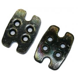 JeJames Cleat Plate for MTB  Shoes Pair