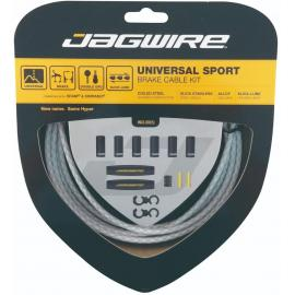 Jagwire Universal Sport Brake Kit White