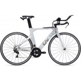 Liv Avow Advanced Road Bike Rainbow White 2021