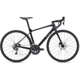 Liv Langma Advanced 1 Disc Road Bike Metallic Black 2021