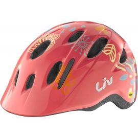 Liv Lena Mips Helmet Youth Coral