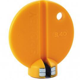 M:Part Spokey Japanese Spoke Key Yellow 3.4mm