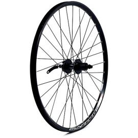 M:Part 26x1.75 Alloy Disc Brake Only QR 135mm Rear Wheel Black