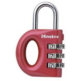 Masterlock Combo Lock 633D Red