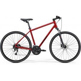 Merida Crossway 40 Hybrid Red / Black 2021