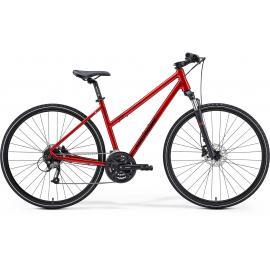 Merida Crossway 40 Women's Hybrid Red / Black 2021