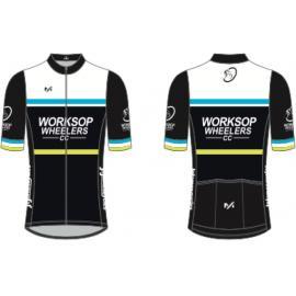 Worksop Wheelers Classic Short Sleeve Jersey